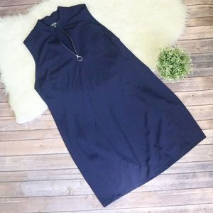 Lauren Ralph Lauren Navy Bodycon Dress